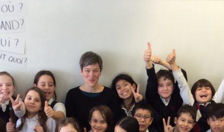 L'auteure Élaine Turgeon nous visite!